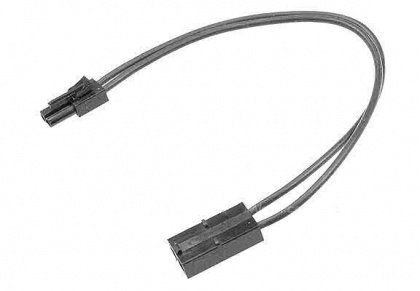 Tamiya RC Connector Small Male/Large Female Cable 10cm