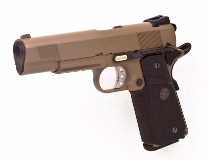 WE SOCOM M.E.U. FDE (with rail & markings) GBB
