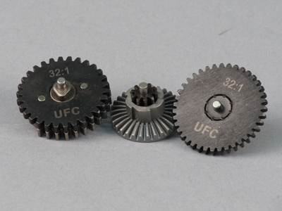 UFC 32:1 Infinite Torque Steel CNC Gear Set